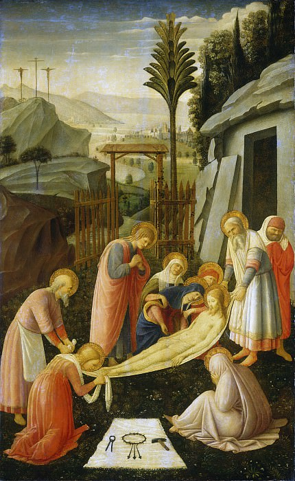 Attributed to Fra Angelico - The Entombment of Christ. National Gallery of Art (Washington)