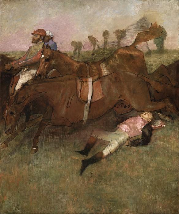 Edgar Degas - Scene from the Steeplechase: The Fallen Jockey. National Gallery of Art (Washington)