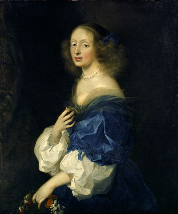 Sebastien Bourdon - Countess Ebba Sparre. National Gallery of Art (Washington)
