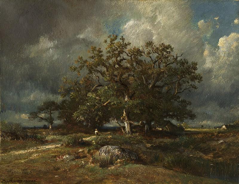 Jules Dupre - The Old Oak. National Gallery of Art (Washington)