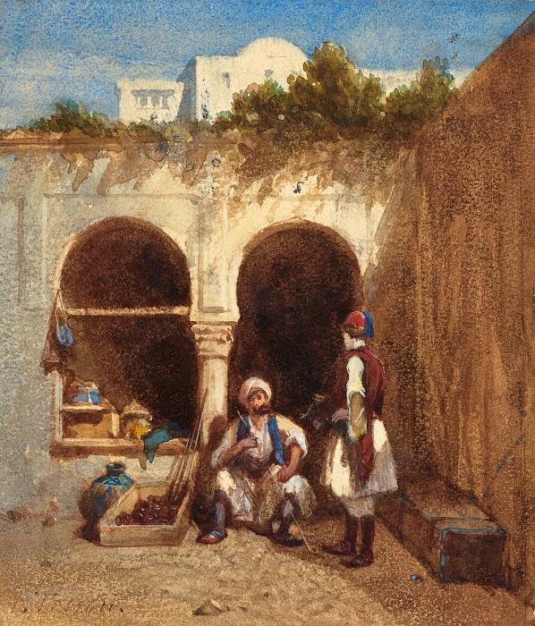 Louis Tesson - Arab Market. National Gallery of Art (Washington)
