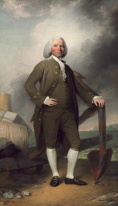 John Trumbull - Patrick Tracy. National Gallery of Art (Washington)