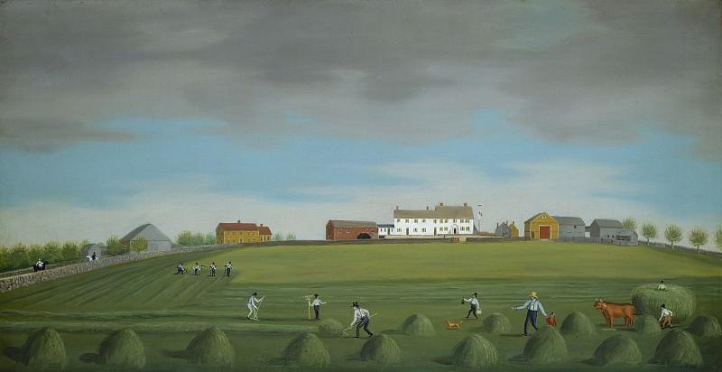 Александер, Фрэнсис - Ральф Уилок на ферме. Национальная галерея искусств (Вашингтон)