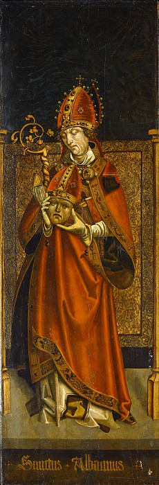 Tyrolean 16th Century - Saint Alban of Mainz. National Gallery of Art (Washington)