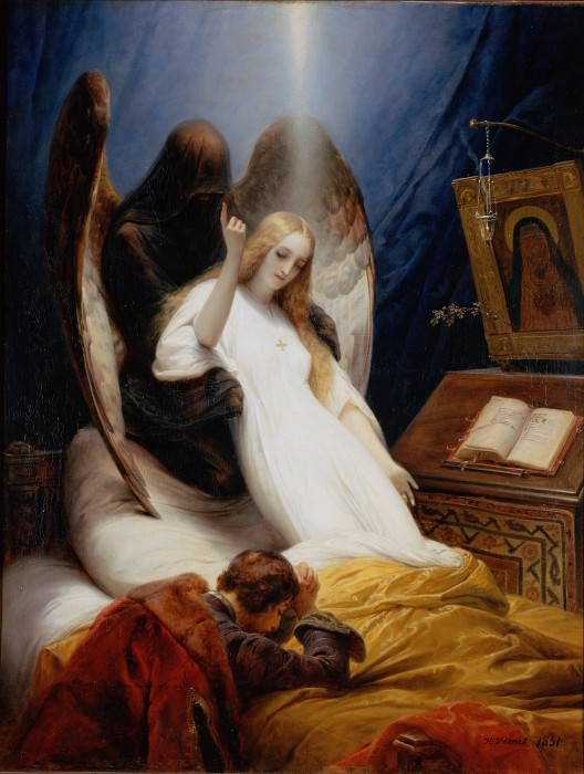 Emil-Jean-Horace Vernet - The Angel of Death. Hermitage ~ part 14 (Hi Resolution images)