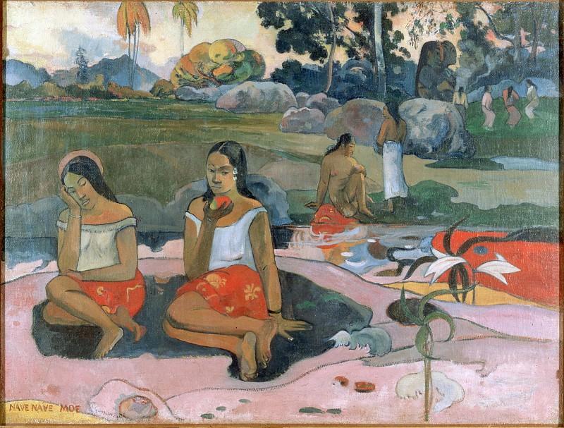 Gauguin, Paul - Sacred Spring, Sweet Dreams (Nave nave moe). Hermitage ~ part 14 (Hi Resolution images)