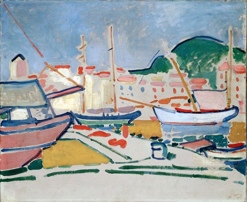 Дерен, Андре - Порт (1905). Эрмитаж ~ часть 14 (Качество)