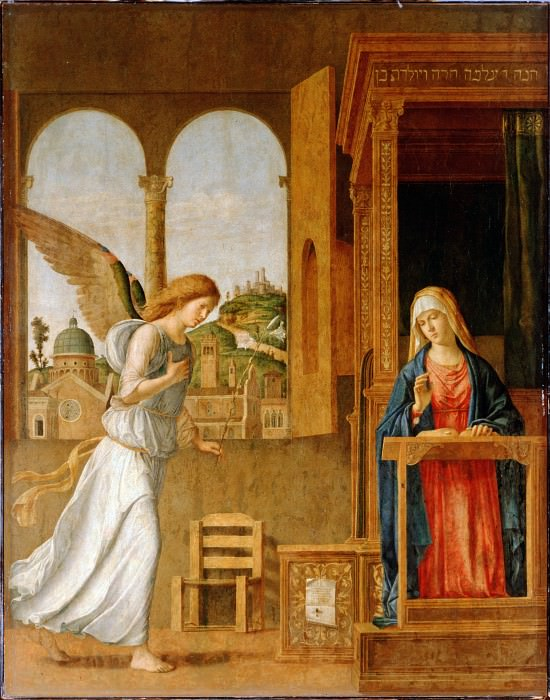Cima da Conegliano - The Annunciation. Hermitage ~ part 14 (Hi Resolution images)