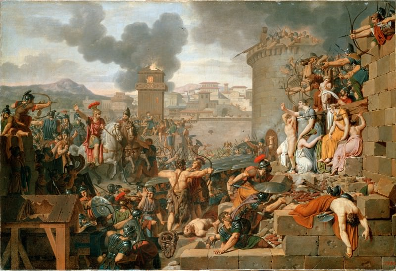 Caraffe, Armand-Charles - Metellus Raising the Siege. Hermitage ~ part 14 (Hi Resolution images)