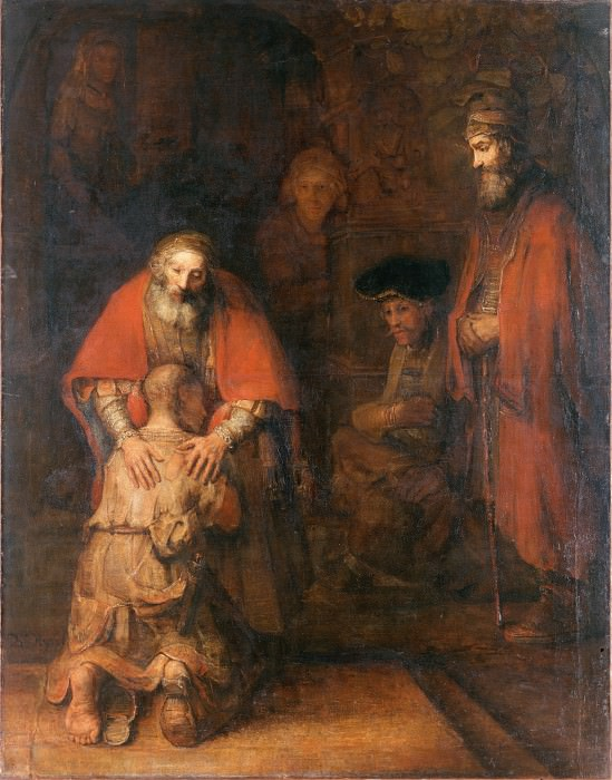 Rembrandt Harmensz. van Rijn - The Return of the Prodigal Son. Hermitage ~ part 14 (Hi Resolution images)