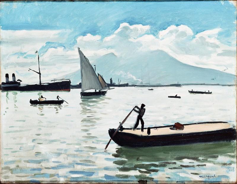 Марке, Альбер - Неаполитанский залив (1908). Эрмитаж ~ часть 14 (Качество)