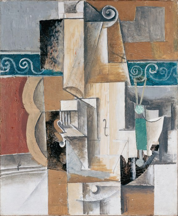 Picasso, Pablo - Guitar and Violin. Hermitage ~ part 14 (Hi Resolution images)