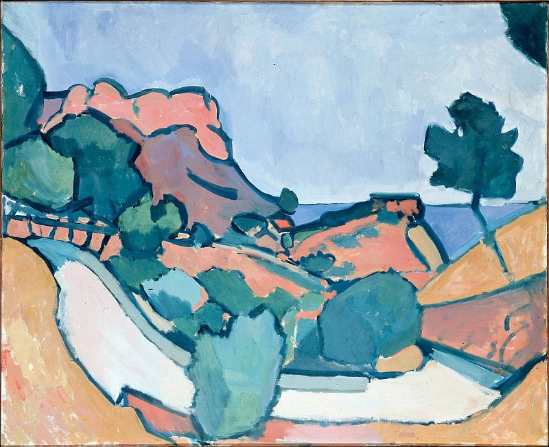 Derain, Andre - Road in the Mountains. Hermitage ~ part 14 (Hi Resolution images)