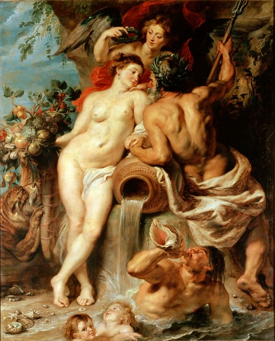 The Union of Earth and Water. Peter Paul Rubens