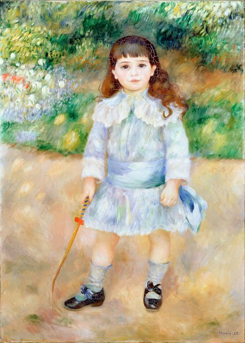 Renoir, Pierre-Auguste - Child with a Whip. Hermitage ~ part 14 (Hi Resolution images)