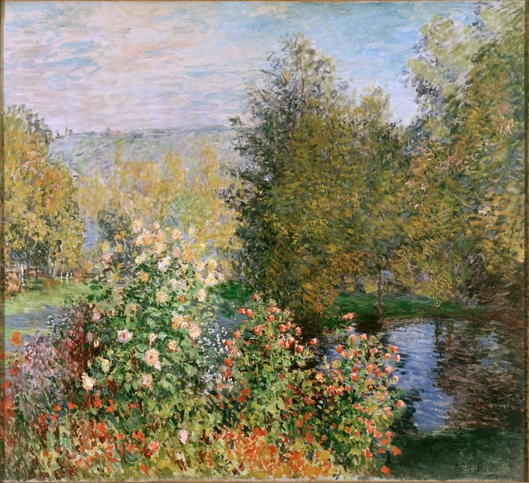 Monet, Claude - Corner of the Garden at Montgeron. Hermitage ~ part 14 (Hi Resolution images)