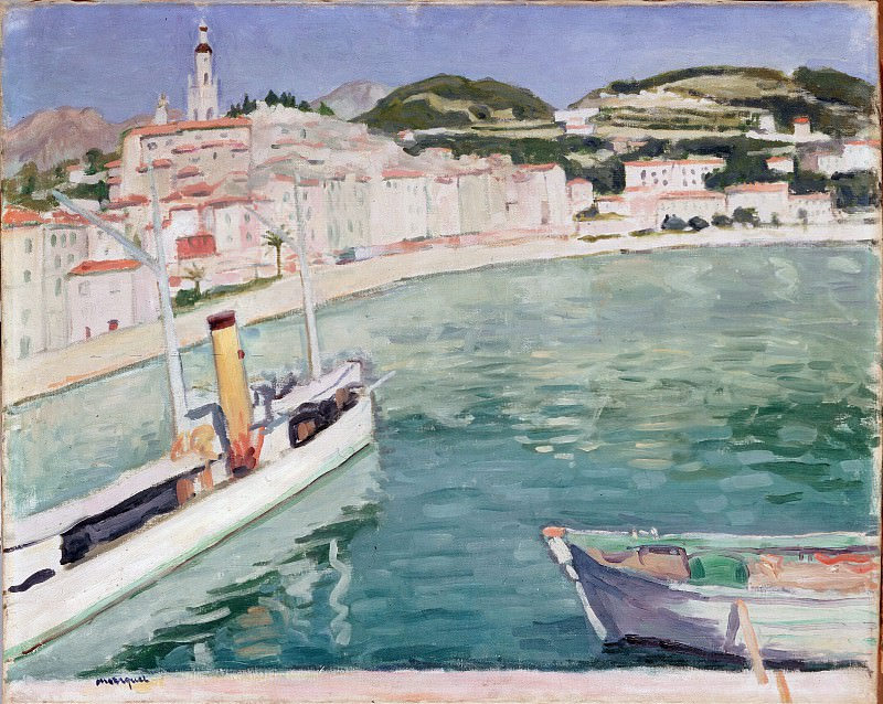 Marquet, Albert - Harbour at Menton. Hermitage ~ part 14 (Hi Resolution images)