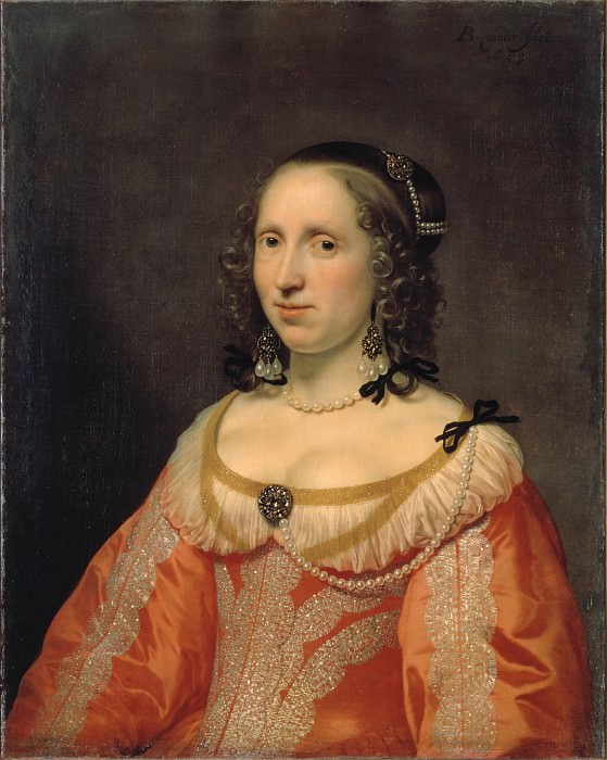 Helst, Bartholomeus van der - Portrait of a Woman. Hermitage ~ part 14 (Hi Resolution images)