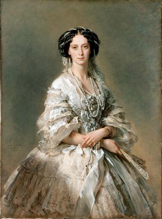 Winterhalter, Francois Xavier - Portrait of Empress Maria Alexandrovna. Hermitage ~ part 14 (Hi Resolution images)