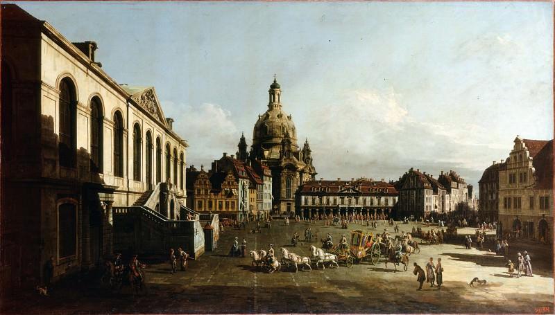 Bellotto, Bernardo - Neumarkt in Dresden. Hermitage ~ part 14 (Hi Resolution images)