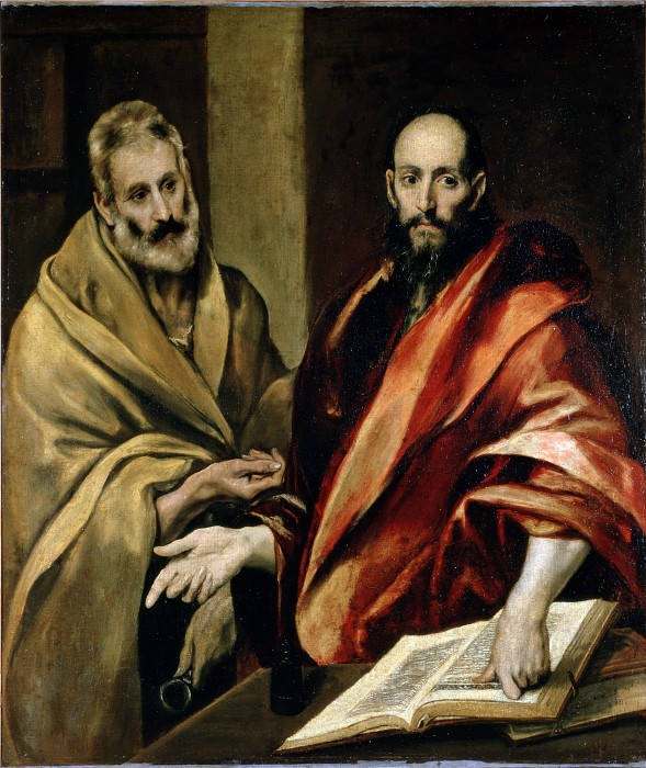 Greco, El - Sts Peter and Paul. Hermitage ~ part 14 (Hi Resolution images)