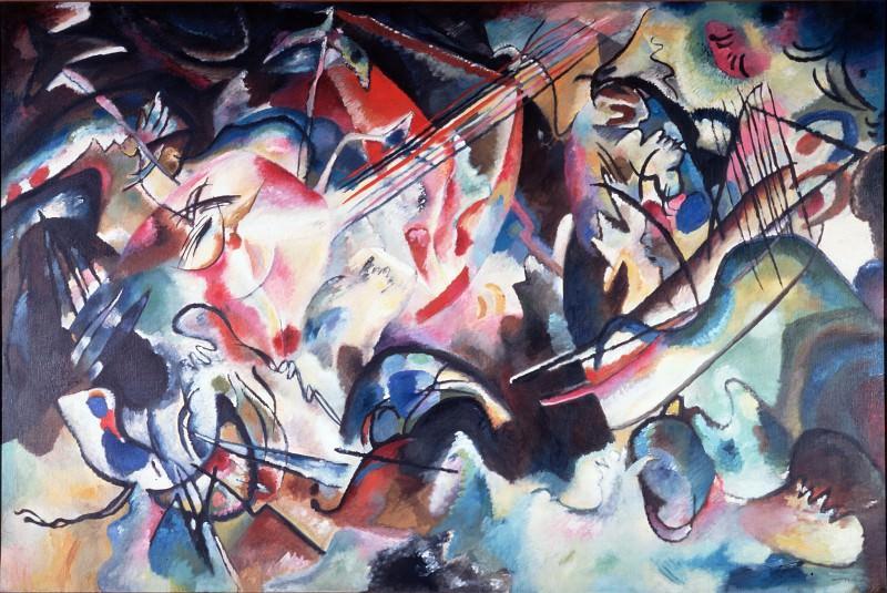 Kandinsky, Vasily - Composition VI. Hermitage ~ part 14 (Hi Resolution images)