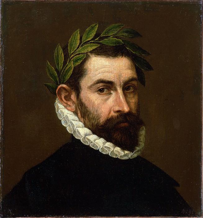 Greco, El - Portrait of the Poet Alonso Ercilla y Zuniga. Hermitage ~ part 14 (Hi Resolution images)