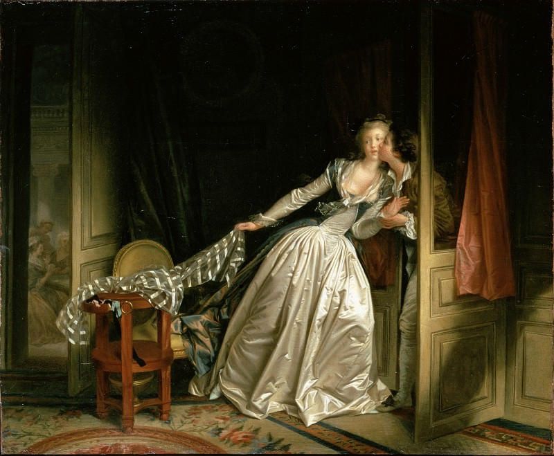 Fragonard, Jean-Honore - The Stolen Kiss. Hermitage ~ part 14 (Hi Resolution images)