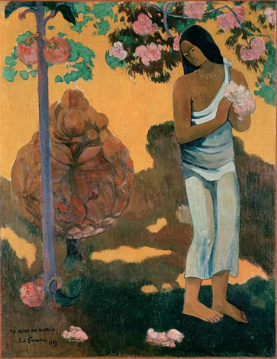 Gauguin, Paul - The Month of Mary (Te avae no Maria). Hermitage ~ part 14 (Hi Resolution images)