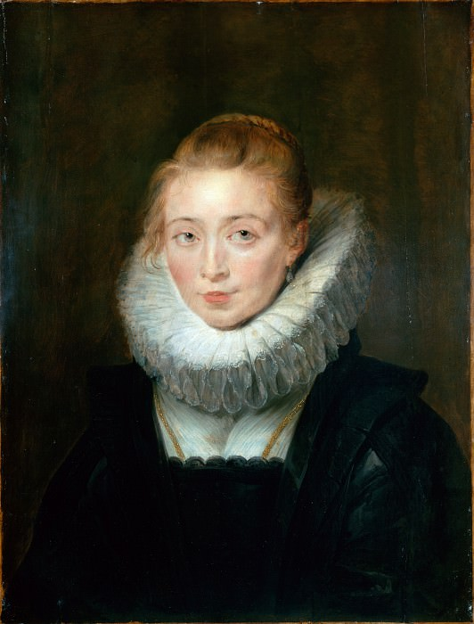 The Maid of Honor to the Infanta Isabella. Peter Paul Rubens