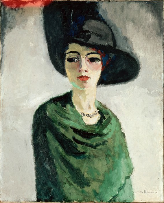 Van Dongen, Kees - Woman in a Black Hat. part 14 Hermitage