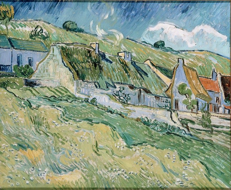 Gogh, Vincent van - Cottages. Hermitage ~ part 14 (Hi Resolution images)
