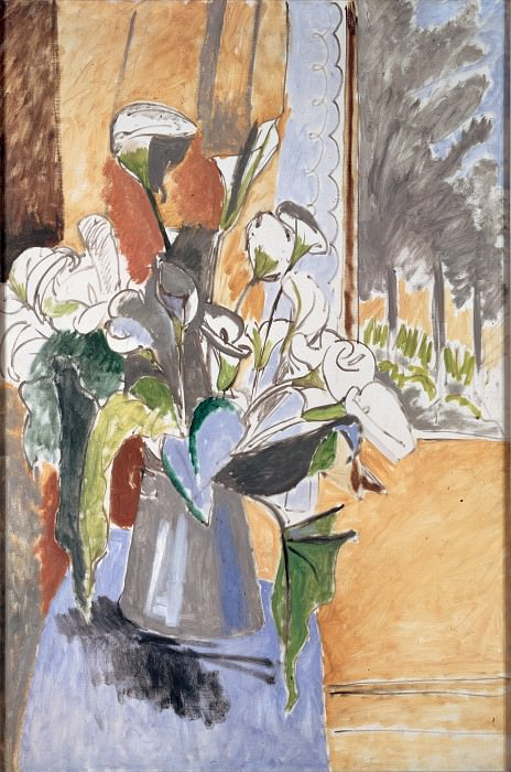 Matisse, Henri - Bouquet of Flowers on a Veranda. Hermitage ~ part 14 (Hi Resolution images)