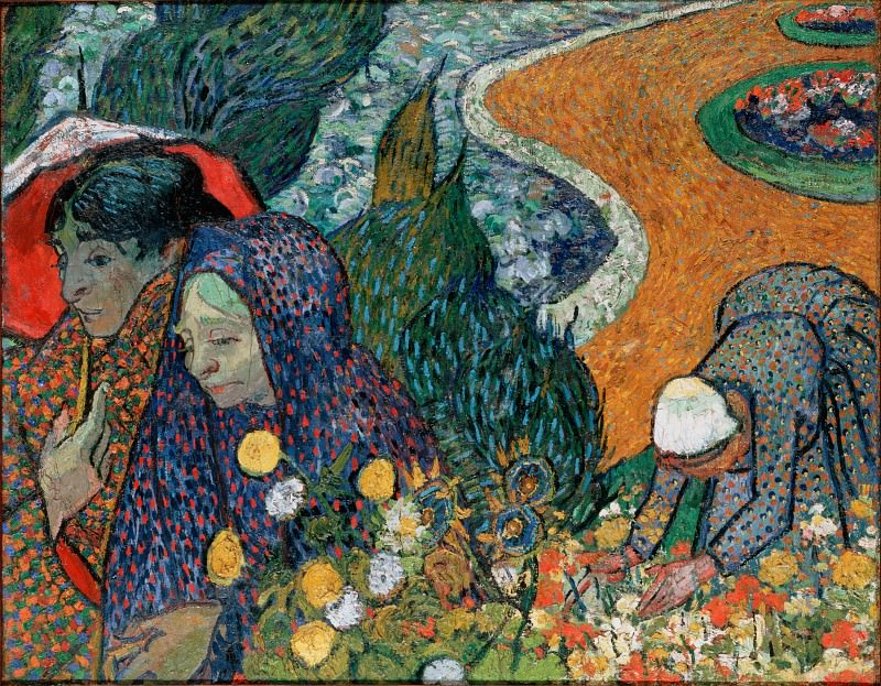 Gogh, Vincent van - Memory of the Garden at Etten (Ladies of Arles). Hermitage ~ part 14 (Hi Resolution images)