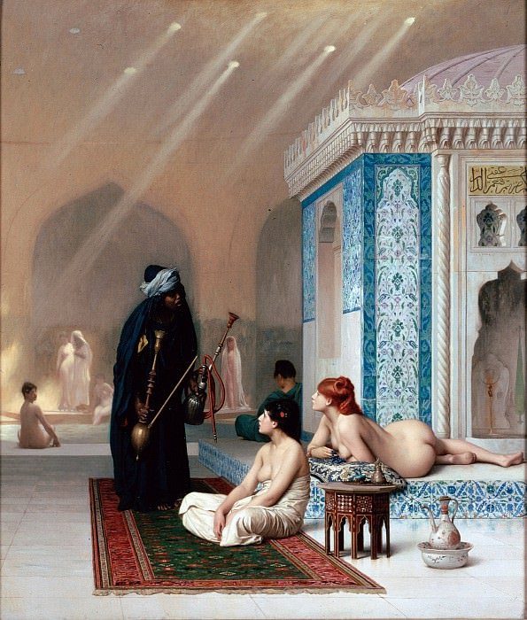 Gerome, Jean-Leon - Pool in a Harem. Hermitage ~ part 14 (Hi Resolution images)
