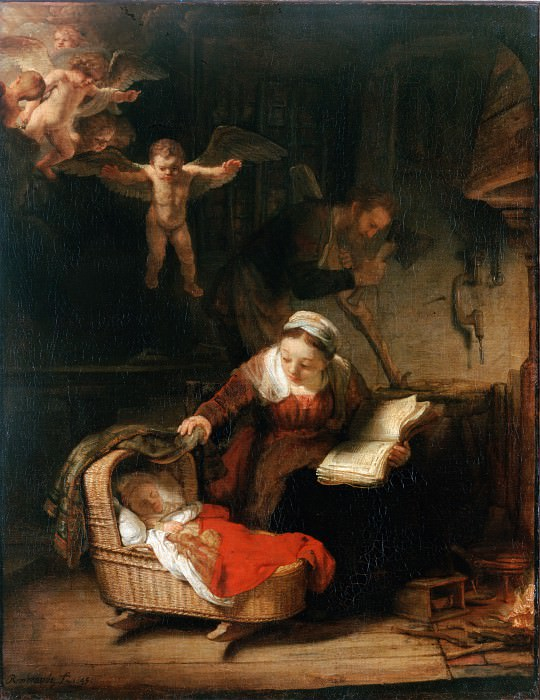 Rembrandt Harmensz. van Rijn - The Holy Family. Hermitage ~ part 14 (Hi Resolution images)