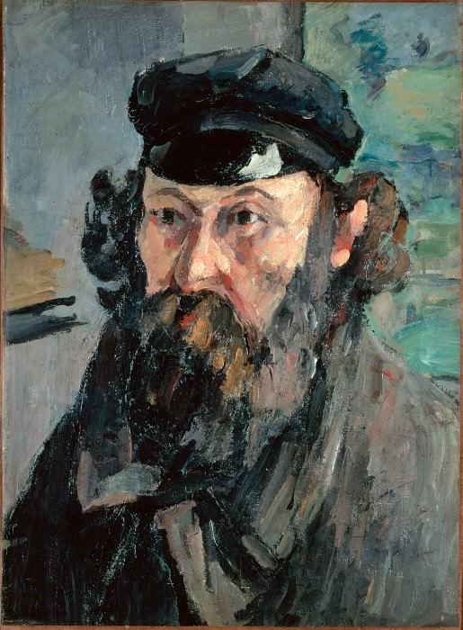 Сезанн, Поль - Автопортрет (1875). Эрмитаж ~ часть 14 (Качество)