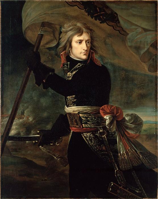 Gros, Antoine-Jean, baron - Napoleon Bonaparte on the Bridge at Arcole. Hermitage ~ part 14 (Hi Resolution images)