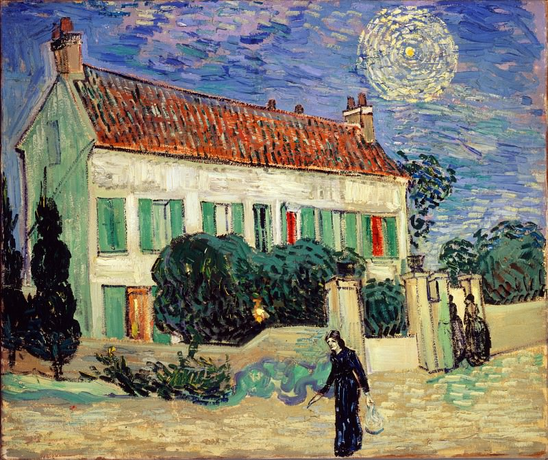 White House at Night. Vincent van Gogh