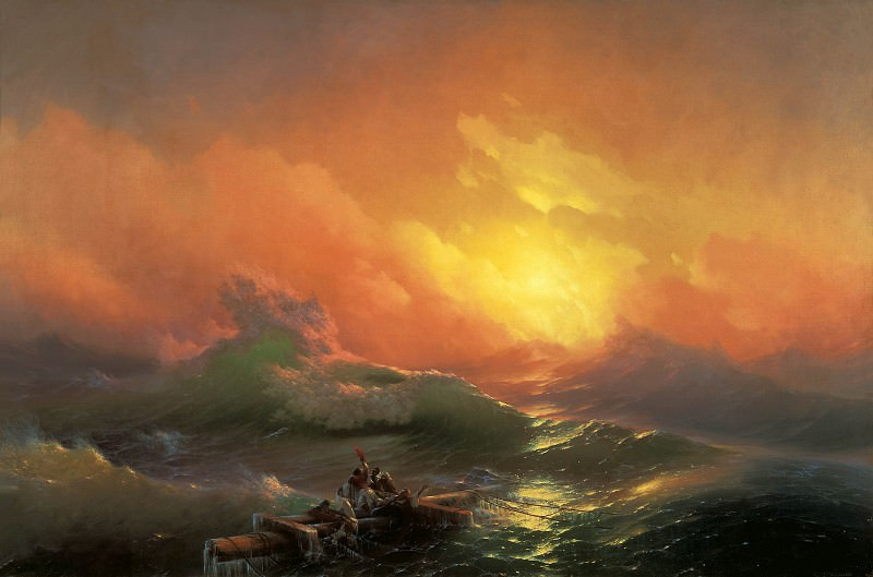 Ivan Aivazovsky - The Ninth Wave. Hermitage ~ part 14 (Hi Resolution images)