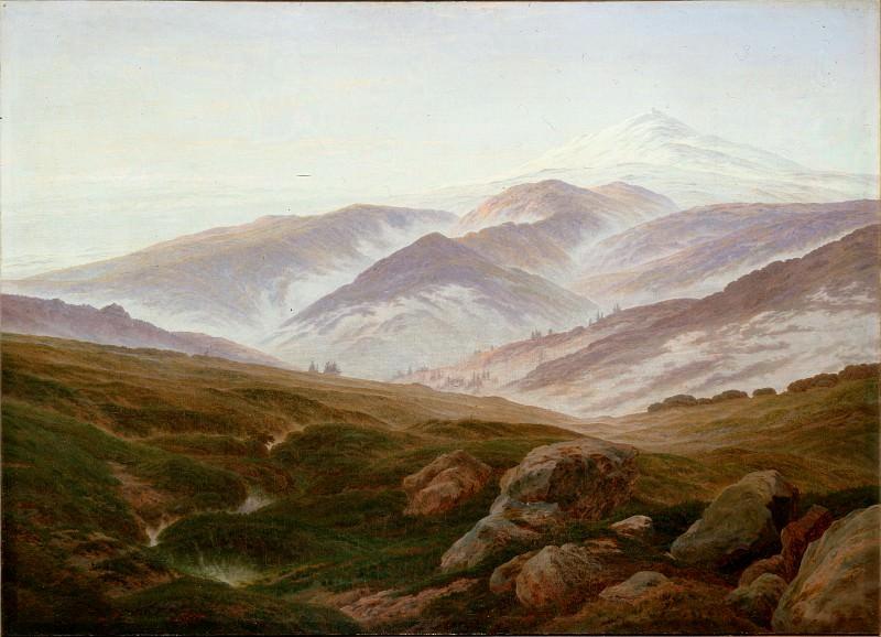 Friedrich, Caspar David - Riesengebirge (Memories of the Riesengebirge ). Hermitage ~ part 14 (Hi Resolution images)