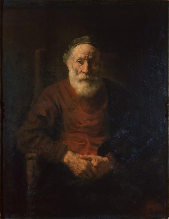 Рембрандт, Харменс ван Рейн - Портрет старика в красном. Эрмитаж ~ часть 14 (Качество)