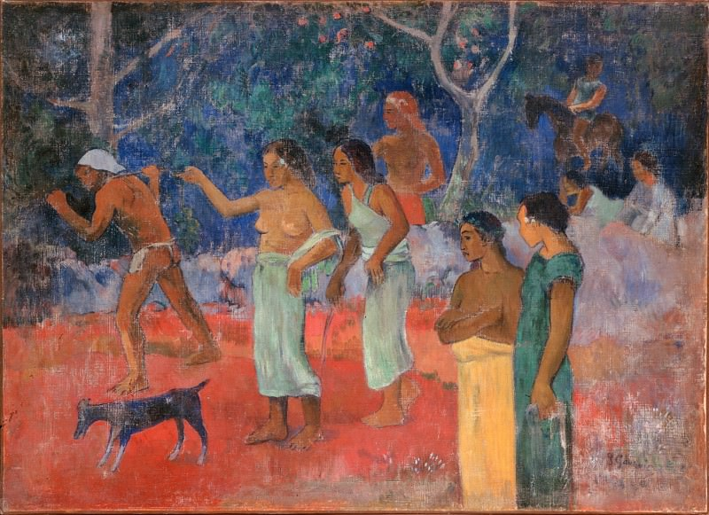 Gauguin, Paul - Scene from Tahitian Life. Hermitage ~ part 14 (Hi Resolution images)