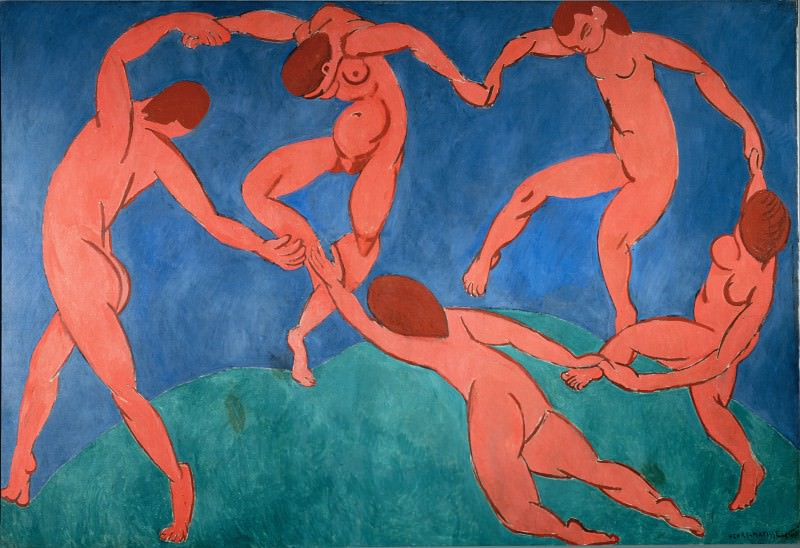 Matisse, Henri - The Dance. Hermitage ~ part 14 (Hi Resolution images)