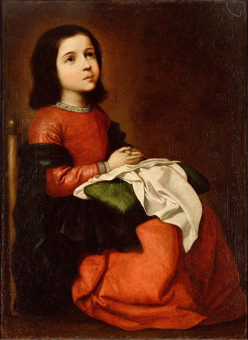 Zurbaran, Francisco de - The Childhood of the Virgin. Hermitage ~ part 14 (Hi Resolution images)
