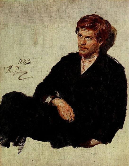 Student-nihilist. 1883. Ilya Repin
