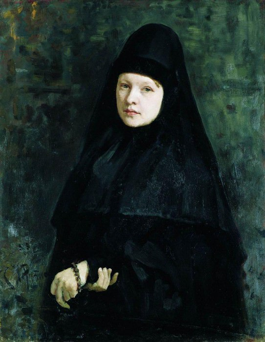 Монахиня. 1878. Илья Ефимович Репин