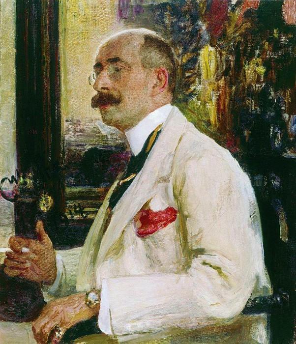 Portrait ND Ermakova. 1914. Ilya Repin