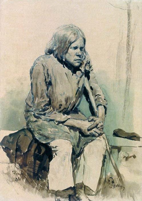 Gorbun2. 1881. Ilya Repin