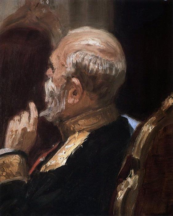 Портрет профессора Н. Н. Обручева. 1903. Илья Ефимович Репин